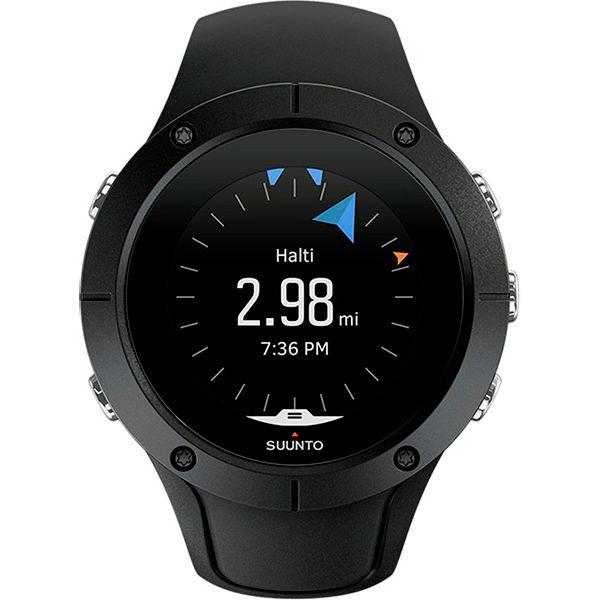 Relógio GPS c/ Monitor Cardíaco no Pulso Suunto Spartan Trainer Preto  - Treinit