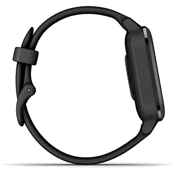 Relógio GPS c/ Monitor Cardíaco Pulso Garmin VENU SQ Music Preto  - TREINIT