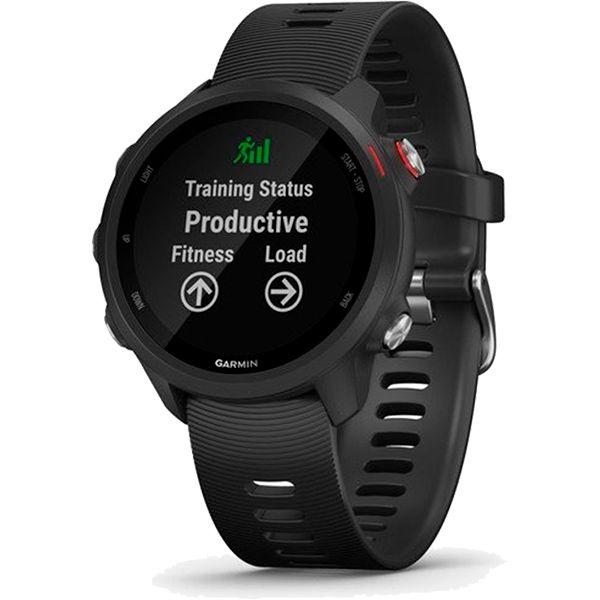 Relógio GPS Frequencímetro de Pulso Garmin Forerunner 245 Music Preto/Vermelho  - TREINIT