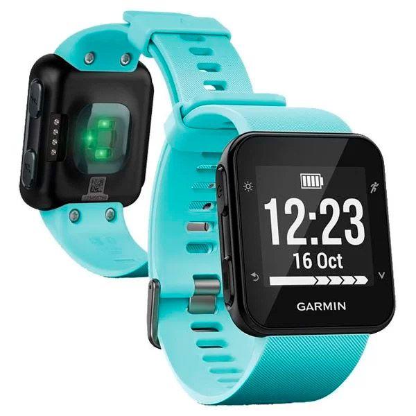 Relógio GPS Frequencímetro de Pulso Garmin Forerunner 35 Azul  - TREINIT