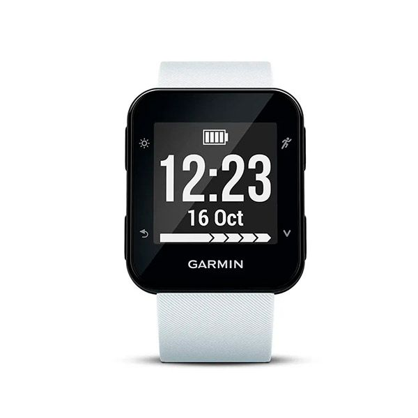 Relógio GPS Frequencímetro de Pulso Garmin Forerunner 35 Branco  - TREINIT