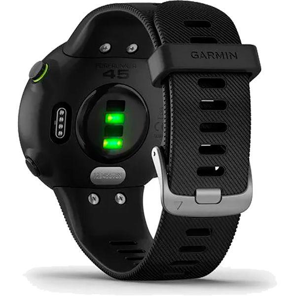 Relógio GPS Frequencímetro de Pulso Garmin Forerunner 45 Preto  - TREINIT
