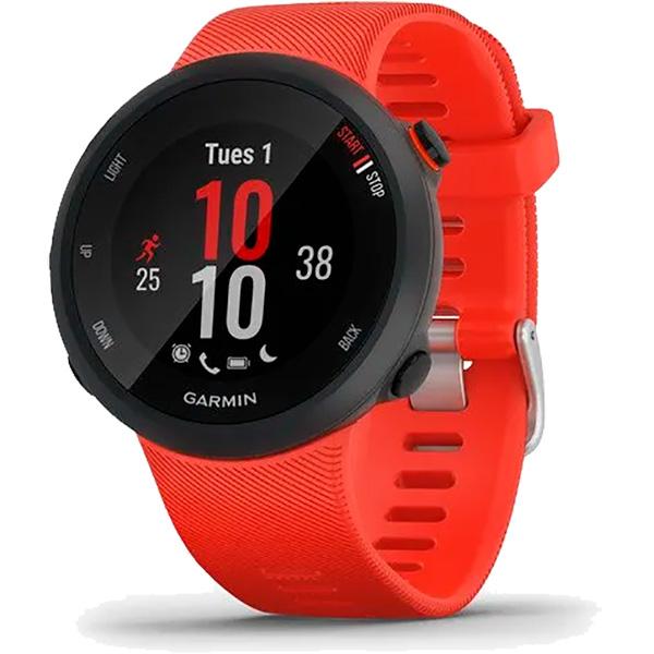 Relógio GPS Frequencímetro de Pulso Garmin Forerunner 45 Vermelho  - TREINIT