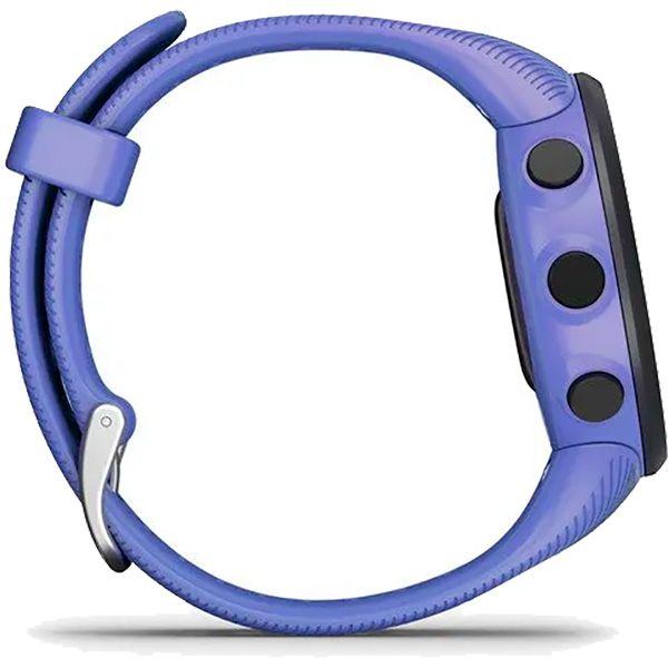 Relógio GPS Frequencímetro de Pulso Garmin Forerunner 45S Roxo  - Treinit