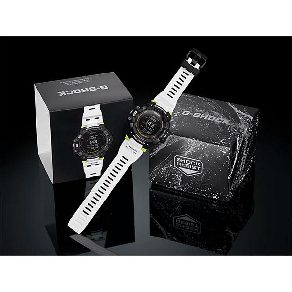 Relógio GPS Monitor Cardíaco de Pulso G-SHOCK Squad GBD-H1000-1A7DR  - TREINIT