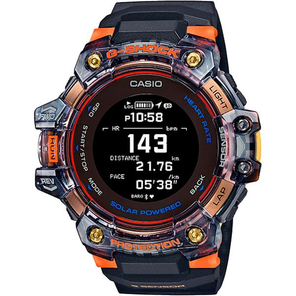 Relógio GPS Monitor Cardíaco de Pulso G-SHOCK Squad GBD-H1000-1A4DR  - TREINIT