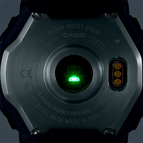 Relógio GPS Monitor Cardíaco de Pulso G-SHOCK Squad GBD-H1000-7A9DR  - TREINIT
