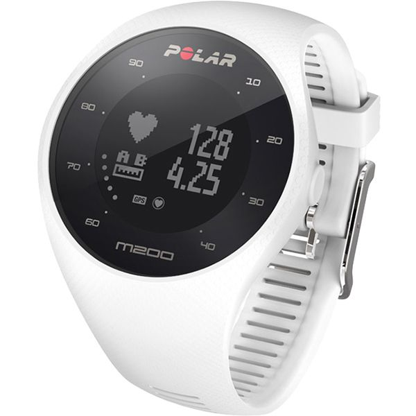 Relógio GPS Monitor Cardíaco de Pulso Polar M200 Branco  - Loja Prime