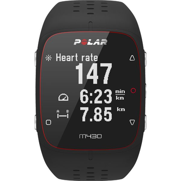 Relógio GPS Monitor Cardíaco de Pulso Polar M430 Preto  - TREINIT