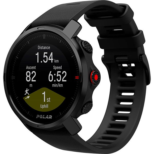 Relógio GPS Multiesportes Monitor Cardíaco de Pulso Polar GRIT X Preto  - TREINIT