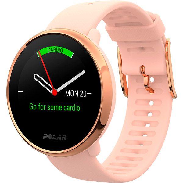 Relógio GPS Multiesportes Monitor Cardíaco de Pulso Polar Ignite Rosé  - TREINIT