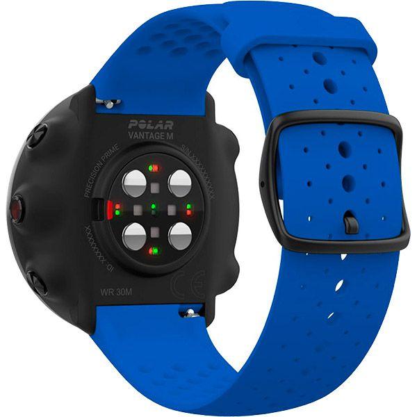 Relógio GPS Multiesportes Monitor Cardíaco de Pulso Polar Vantage M Azul  - TREINIT