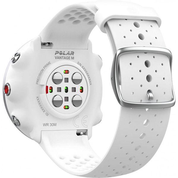 Relógio GPS Multiesportes Monitor Cardíaco de Pulso Polar Vantage M Branco  - Loja Prime