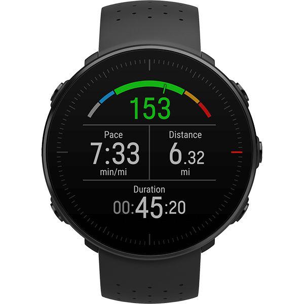 Relógio GPS Multiesportes Monitor Cardíaco de Pulso Polar Vantage M Preto  - TREINIT