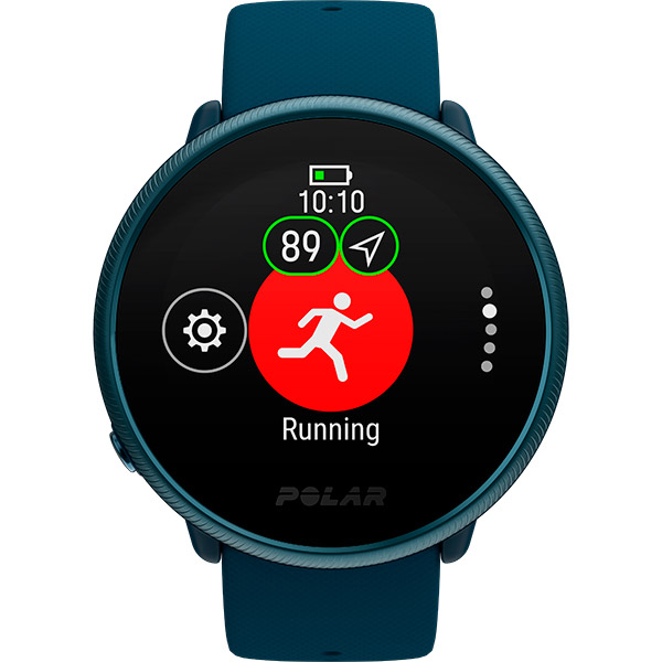 Relógio GPS Multiesportes Monitor Cardíaco Polar Ignite 2 Azul  - TREINIT