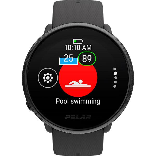 Relógio GPS Multiesportes Monitor Cardíaco Polar Ignite 2 Preto Perolado  - TREINIT
