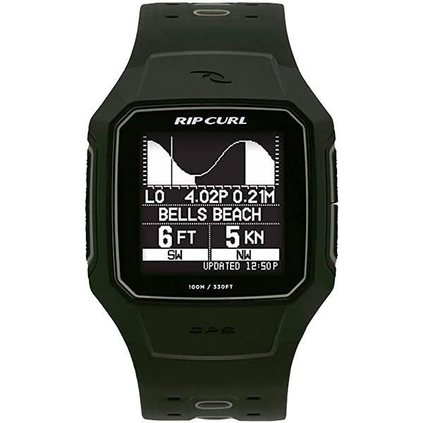 Relógio GPS Rip Curl SearchGPS 2 Military Green - A1144  - TREINIT