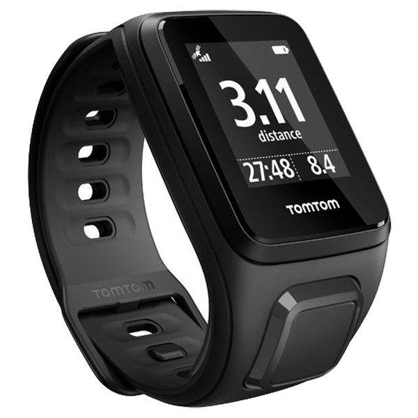Relógio GPS Tomtom SPARK MUSIC Black 3Gb + Fone Bluetooth  - Treinit