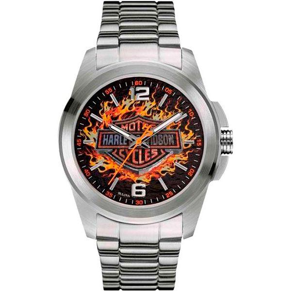 Relógio Masculino Analógico Bulova Harley Davidson WH30528T  - Loja Prime