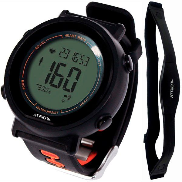 Relógio Monitor Cardíaco Multilaser ES049 FORTIUS Calorias / Frequencímetro + Brinde  - Treinit