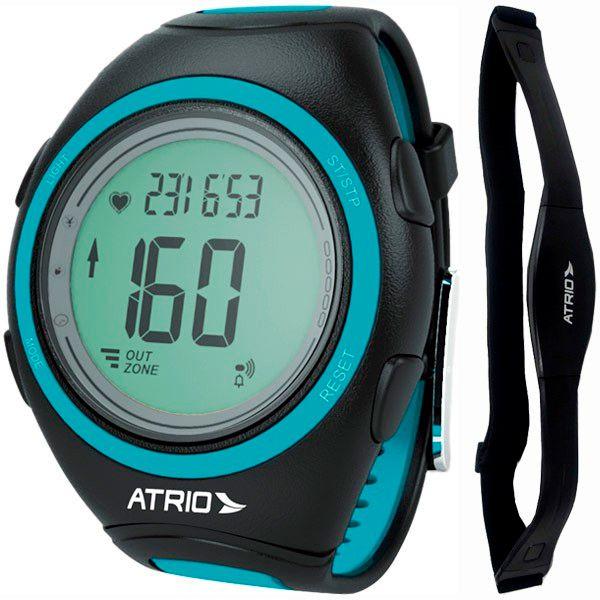 Relógio Monitor Cardíaco Multilaser ES050 CITIUS Calorias / Frequencímetro + Brinde  - TREINIT