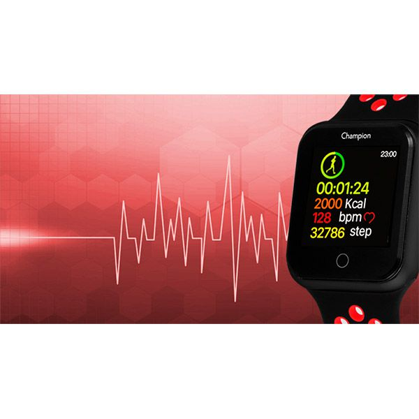 Relógio Smartwatch Champion CH50006D Bluetooth  - TREINIT