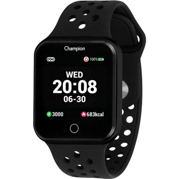 Relógio Smartwatch Champion CH50006P Bluetooth  - Treinit