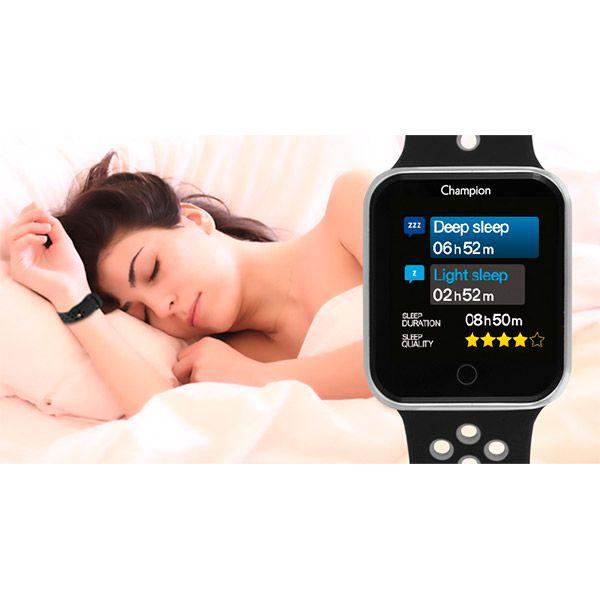 Relógio Smartwatch Champion CH50006P Bluetooth  - TREINIT