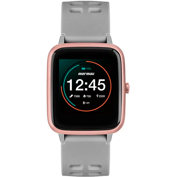 Relógio Smartwatch Mormaii Full Display Rosé - MOLIFEAC8K  - TREINIT