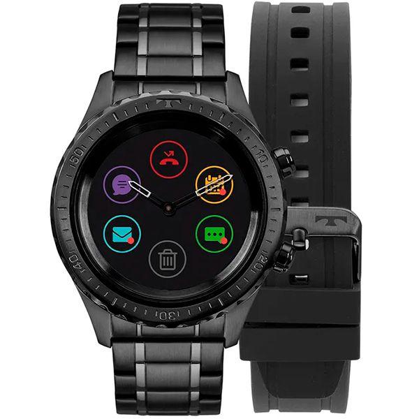 Relógio Smartwatch Technos Connect Plus P01AB/4P Preto  - TREINIT