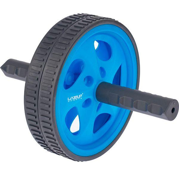 Roda de Exercícios Plus Azul - LIVEUP - LS3160B  - TREINIT