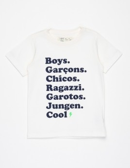 CAMISETA BOYS OFF-WHITE