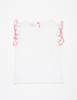 TOP FLOR LISO OFF-WHITE