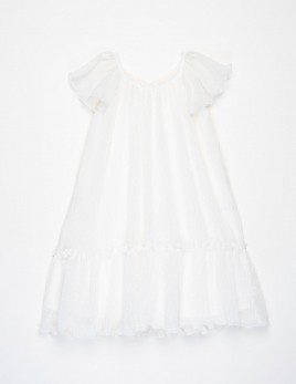 VESTIDO CLAIR OFF-WHITE