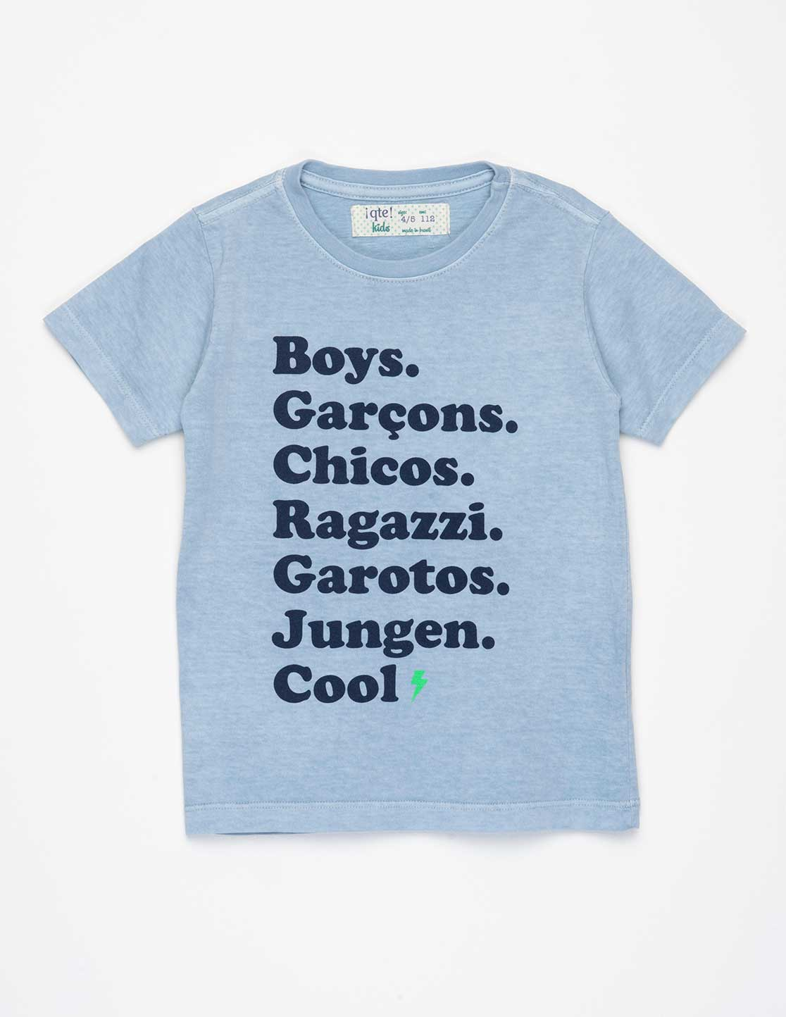 CAMISETA BOYS AZUL