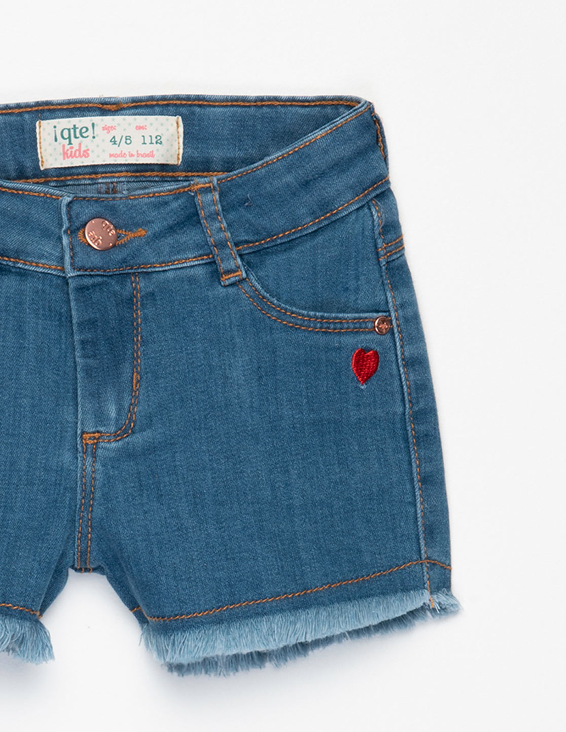 SHORTS JEANS LOVE
