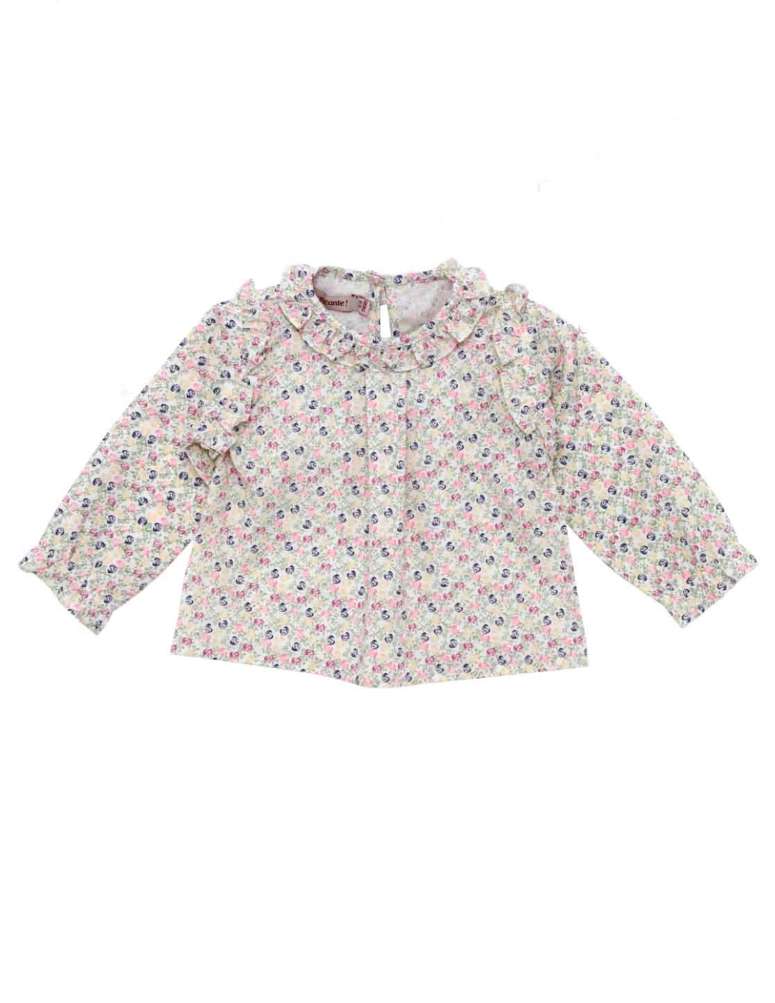 TOP MINI PAPILON FLORAL