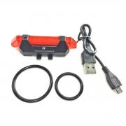 VISTA LIGHT TRAS 5 FUNCOES C/RECARGA USB PTO Ref: HOLUZ0024 HIGH ONE