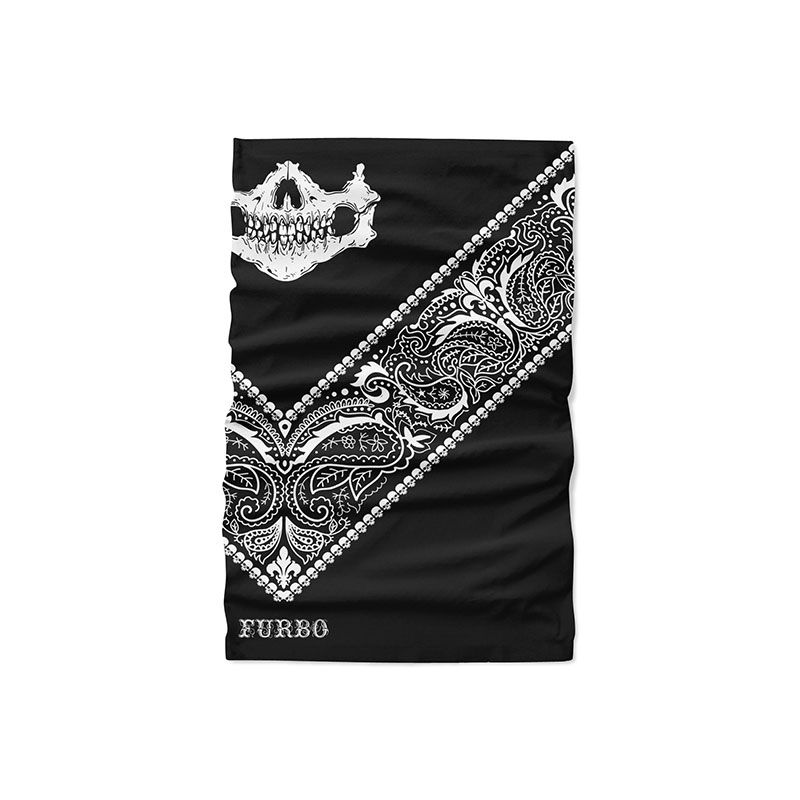 BANDANA CIC. TUBULAR FURBO SENSITIVE SKULL UNISSEX