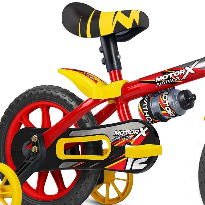 BICICLETA ARO 12 MOTOR X