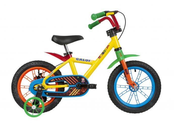 Bicicleta aro 14 Caloi Zigbim