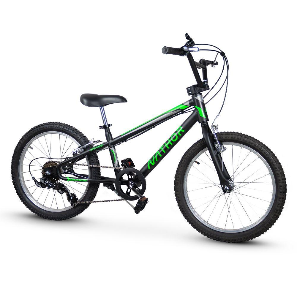 Bicicleta aro 20 Blade - Cambio Shimano 6v - Nathor