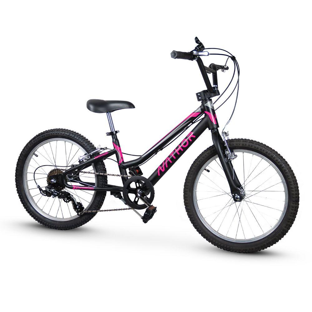 Bicicleta aro 20 Harmony - Cambio Shimano 6v - Nathor