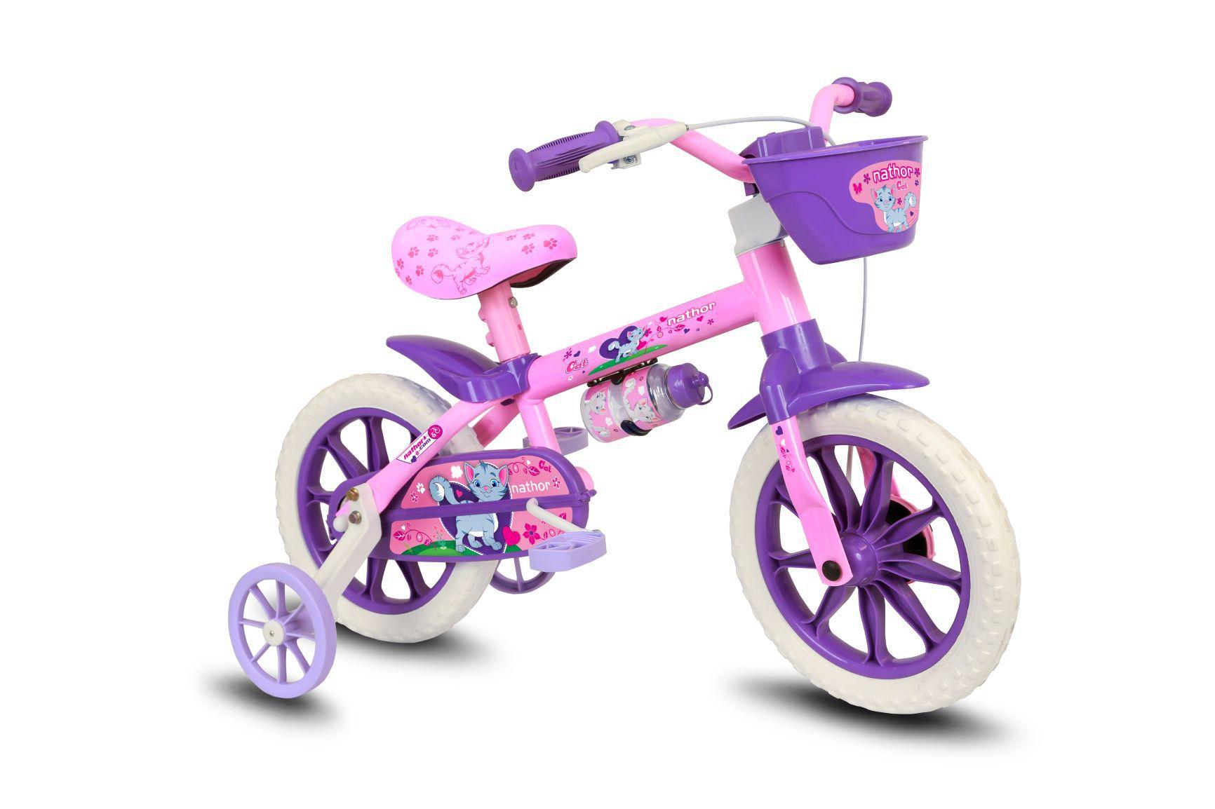 Bicicleta aro 12 Cat Selim PU Nathor