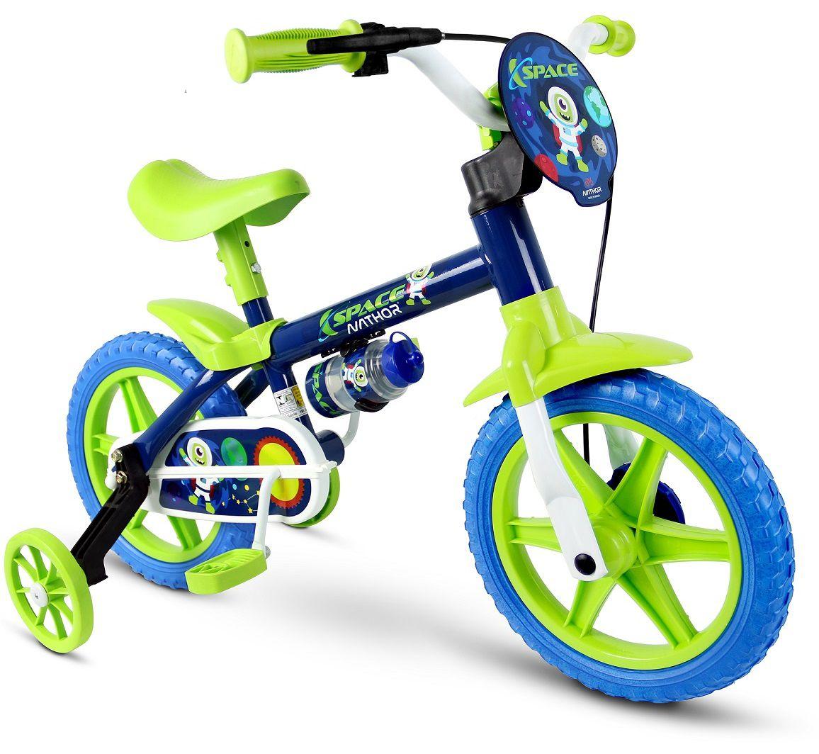 9c5489fad Bicicleta Infantil Aro 12 SPACE Nathor - Pratti bikes