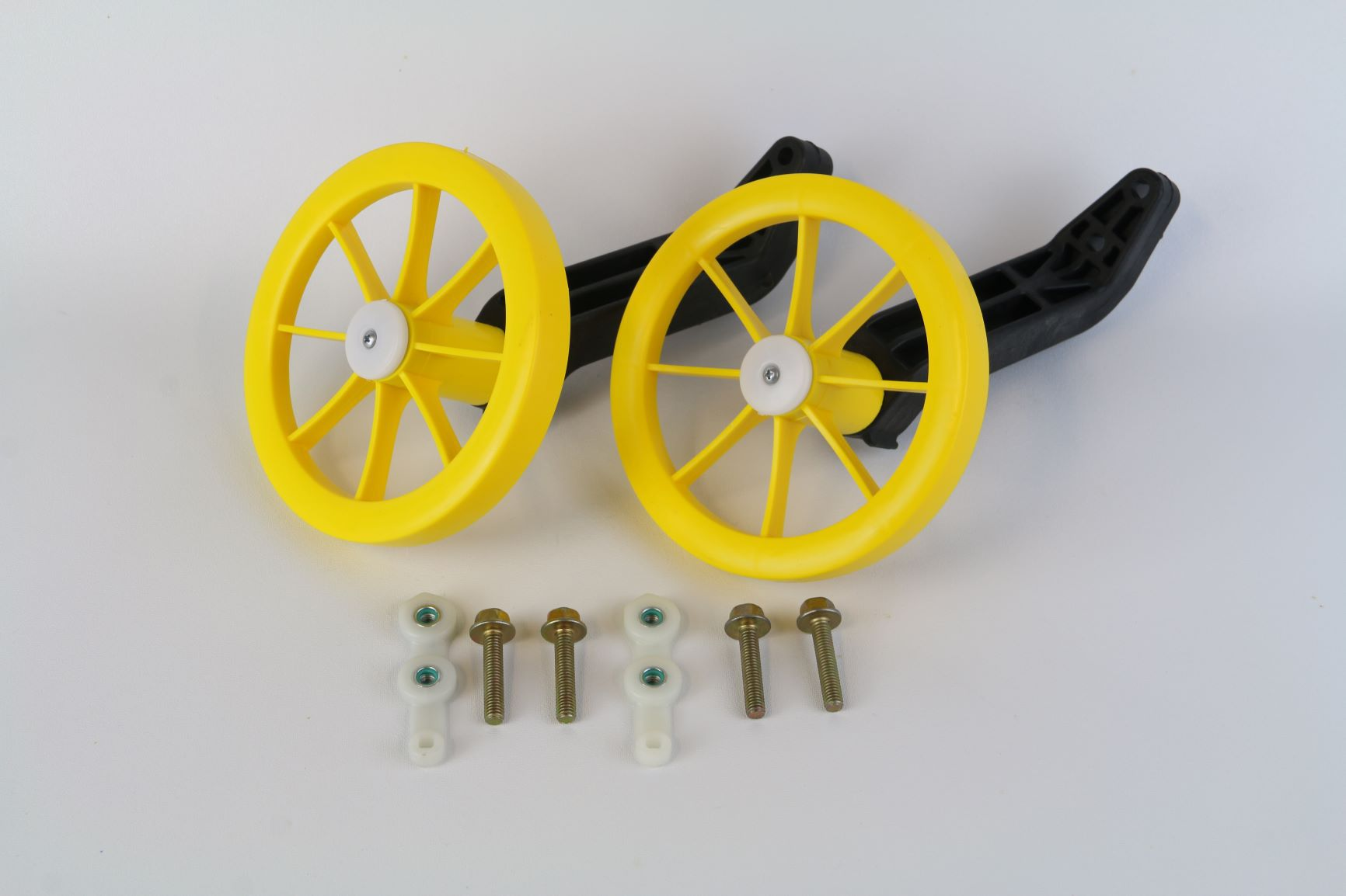 Conjunto de Roda Lateral para bicicleta aro 12 Nathor - Cores Diversas