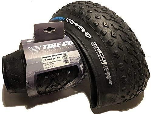"Pneu 20 x 4"" 120tpi FAT - Folding Bead MP - Vee Tire Mission Command"