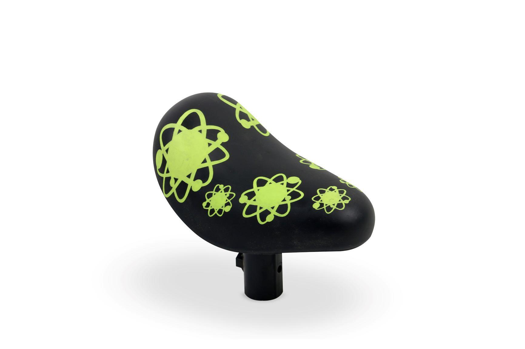 Selim PU para bicicleta aro 12 Black Nathor