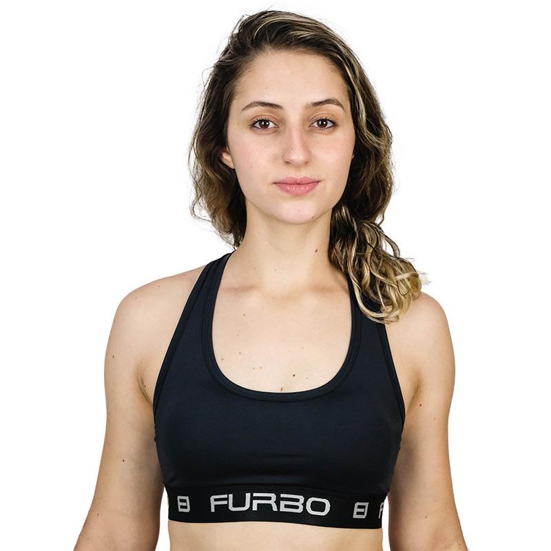 TOP FEMININO FURBO POLIAMIDA DUE - 0003-PRETO