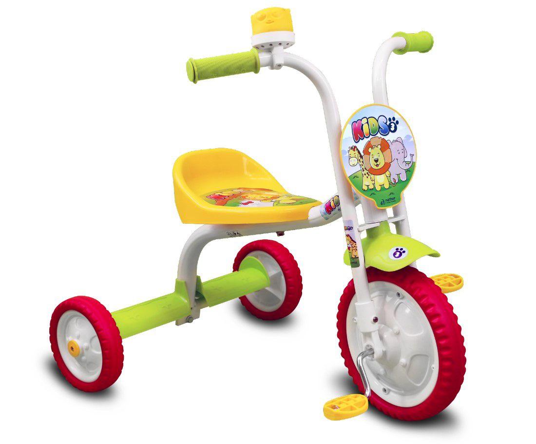 f5256fc0b0 Triciclo Infantil Kids 3 Nathor - Pratti bikes